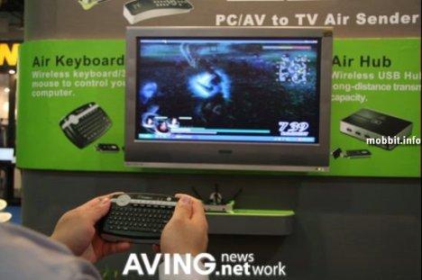 Cideko Air Keyboard - клавиатура, мышь и дистанционка в одном