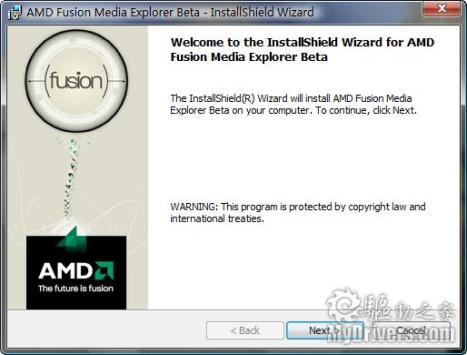 AMD Fusion Media Explorer 1.0.0.0067