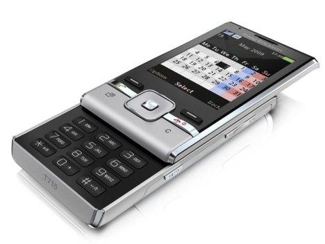 Sony Ericsson T715 – новый 3G-слайдер