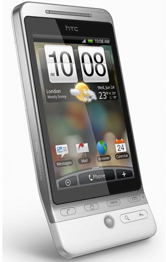 HTC Hero с интерфейсом Sense