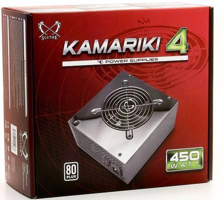 Scythe представила несколько БП серии Kamariki 4 с КПД 80%