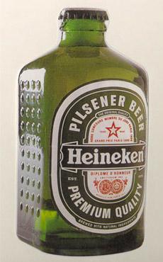 Интересно, если бы сейчас Heineken выпускали в таких бутылках, строил бы кто-нибудь из них дома?