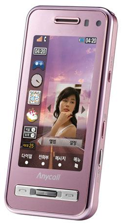 Samsung Yuna's Haptic представлен на World IT Show 2009