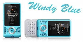 Новые молодежные цвета Sony Ericsson W205 Walkman