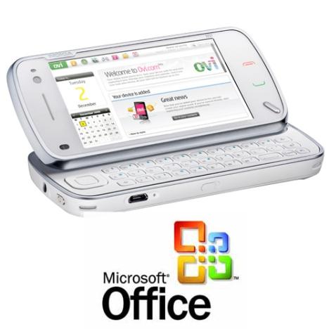 На смартфонах Nokia появится Microsoft Office
