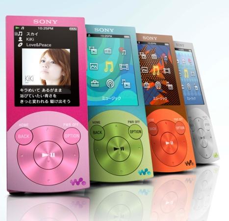 Новинки от Sony: плееры Walkman серии A и S