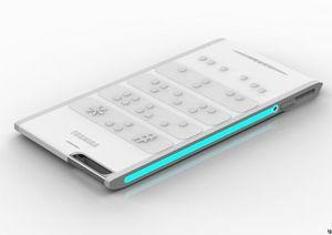 Представлен концепт телефона для слепых Toshiba Tactility