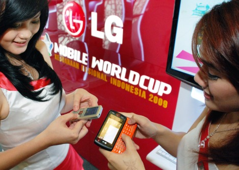 LG MOBILE WORLDCUP 2009