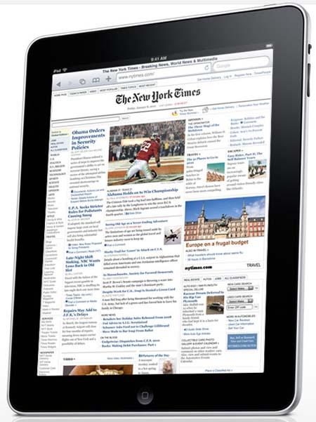 Apple iPad: и все таки он существует!