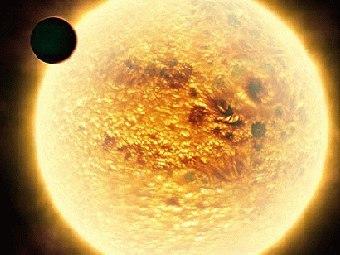 Астрофизики застали звезду за поглощением собственной планеты