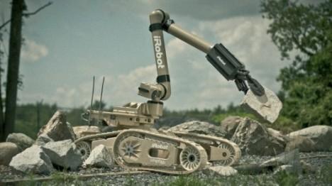 710 Warrior - боевой робот нового поколения