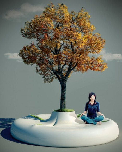 «Скамья-дерево» от Марко Вуковича – шаг навстречу природе?