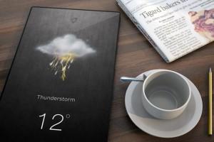 Гаджет дня: настенный домашний планшет