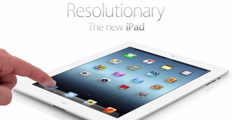 iPad 3 вышел в свет