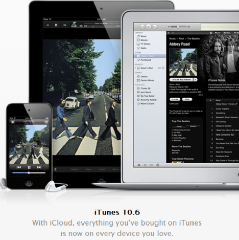 Вышла новая версия iTunes 10.6 с поддержкой 1080p